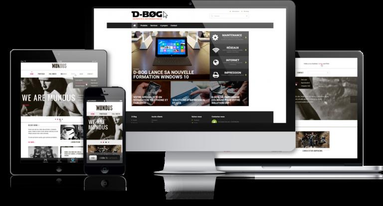 Création site web et Internet